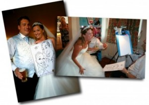 Wedding Caricatures Nottingham, Derby, Leicester  001