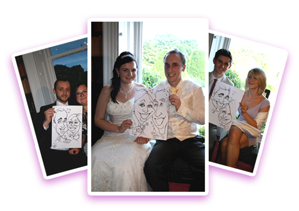 wedding caricaturist case study group