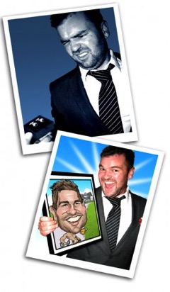 Best Man Gift Caricature 02