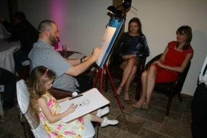 Wedding Caricatures Isla 2