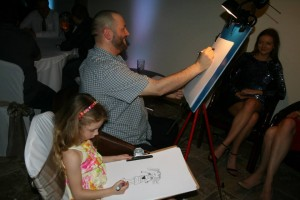 Wedding Caricatures Isla 3