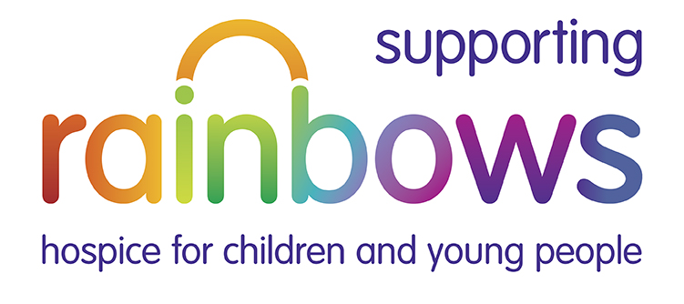 Rainbow's Children's Hospice Logo - the charity Nottingham based Beefy's Caricatures is supporting
